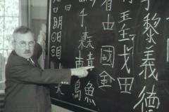 Preparazione della delegazione svizzera in Corea: lezione di lingua nella caserma di Berna