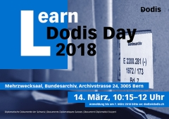 Flyer Learn Dodis Day 2018